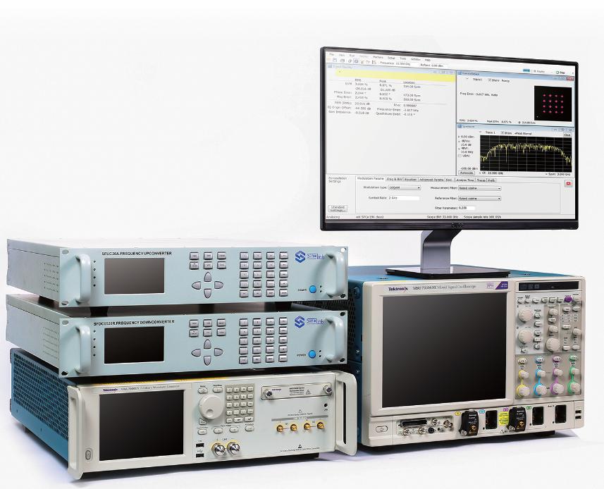 Sinolink UGA4000A 宽带矢量信号产生和分析系统,67GHz