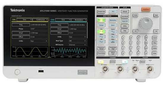 Tektronix AFG31000系列 任意波函数发生器