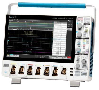Tektronix 4 系列 MSO 混合信号示波器