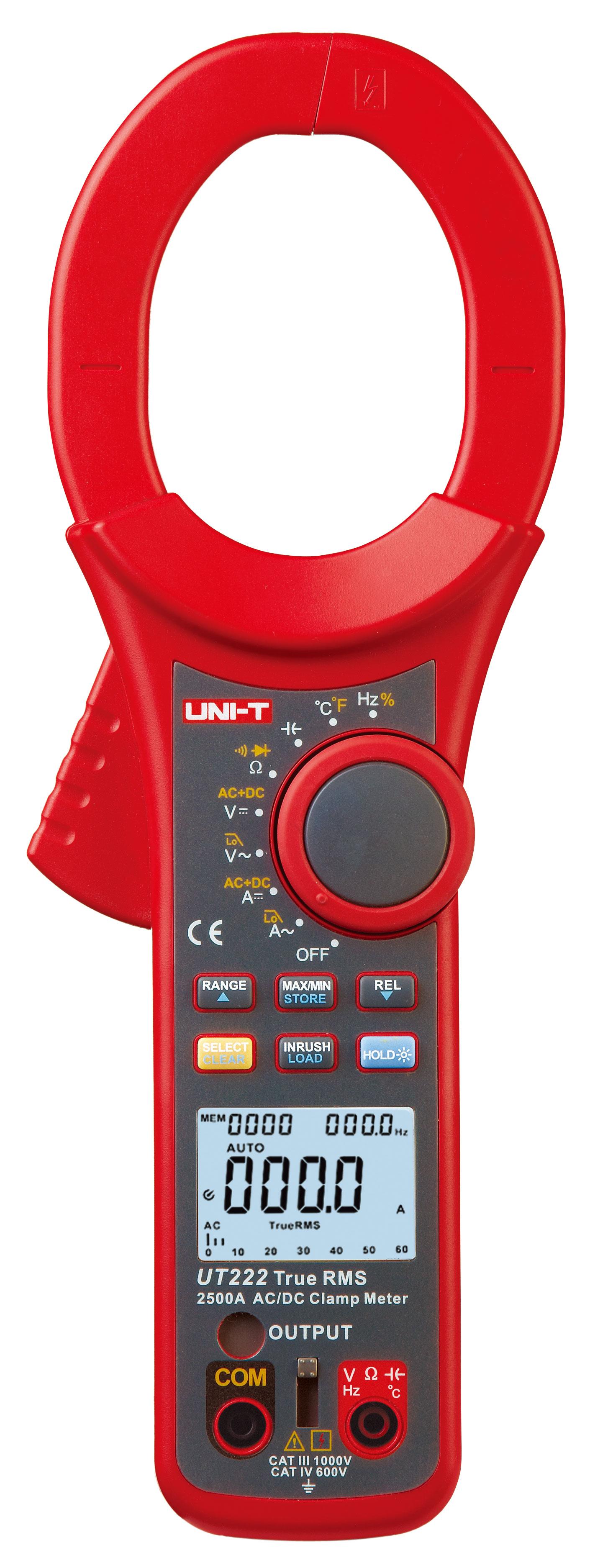 UNI-T UT222 2500A 数字钳形表