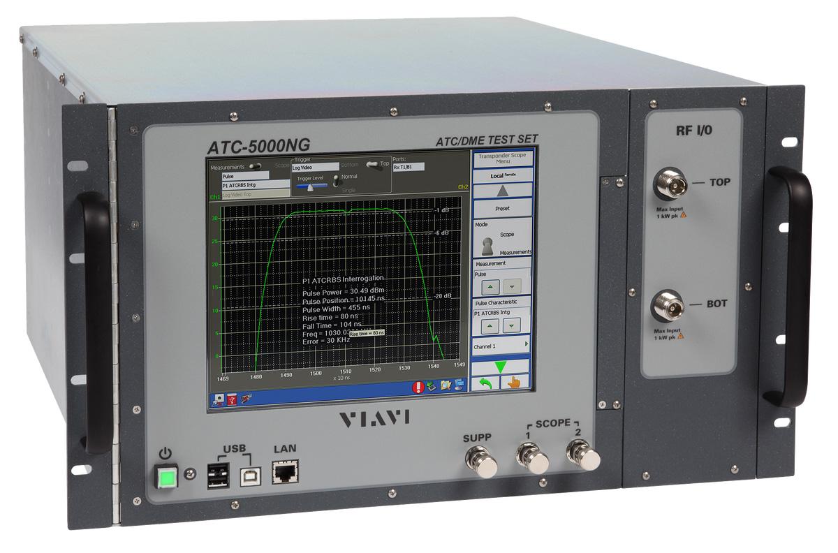 VIAVI ATC5000NG 应答机/DME测试仪(原Aeroflex)