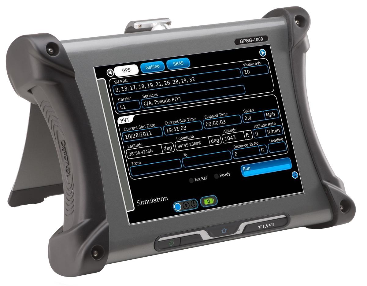 VIAVI GPSG-1000 GPS/Galileo 便携导航位置模拟器(原Aeroflex)