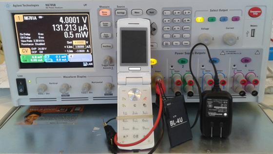 手机耗电等性能测试